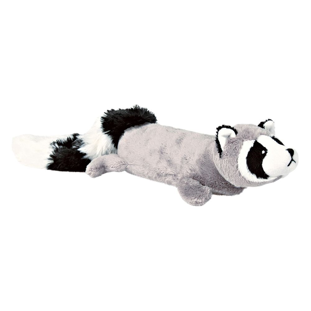 Trixie Plush Raccoon with Power Squeaker - 46cm