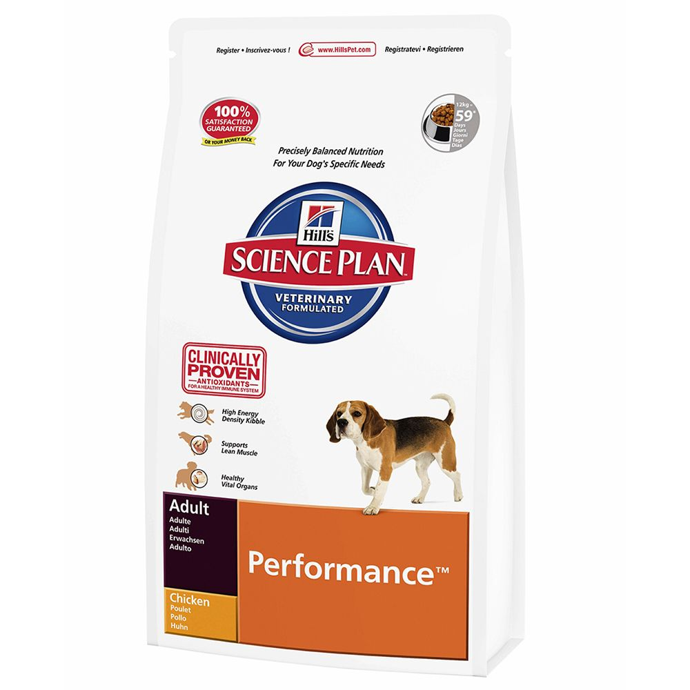 Hill's Science Plan Adult Performance - Chicken - 12kg