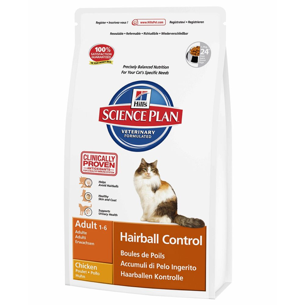 Foto Hill's Science Plan Feline Hairball Control - 2 x 5 kg - prezzo top! Hill's Science Plan Boli di pelo