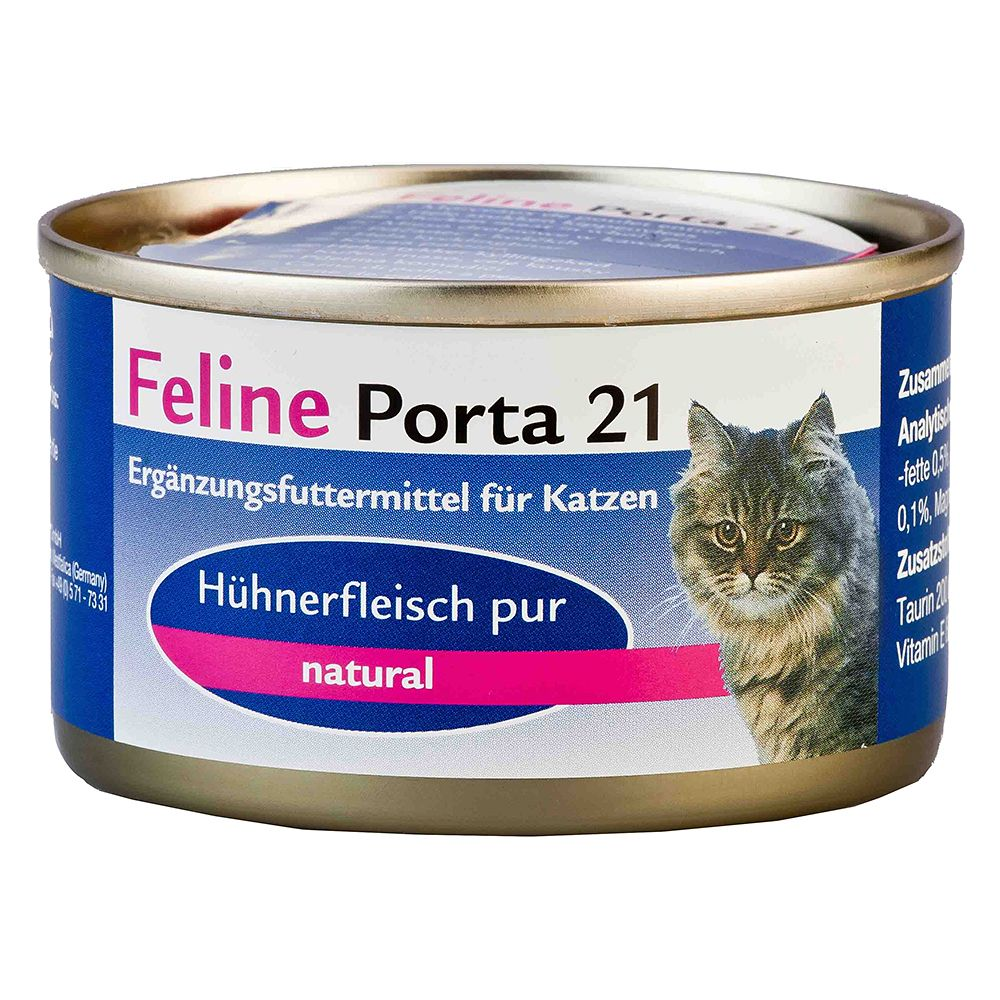 Feline Porta 21 Saver Pack 24 x 90g - Tuna with Icefish