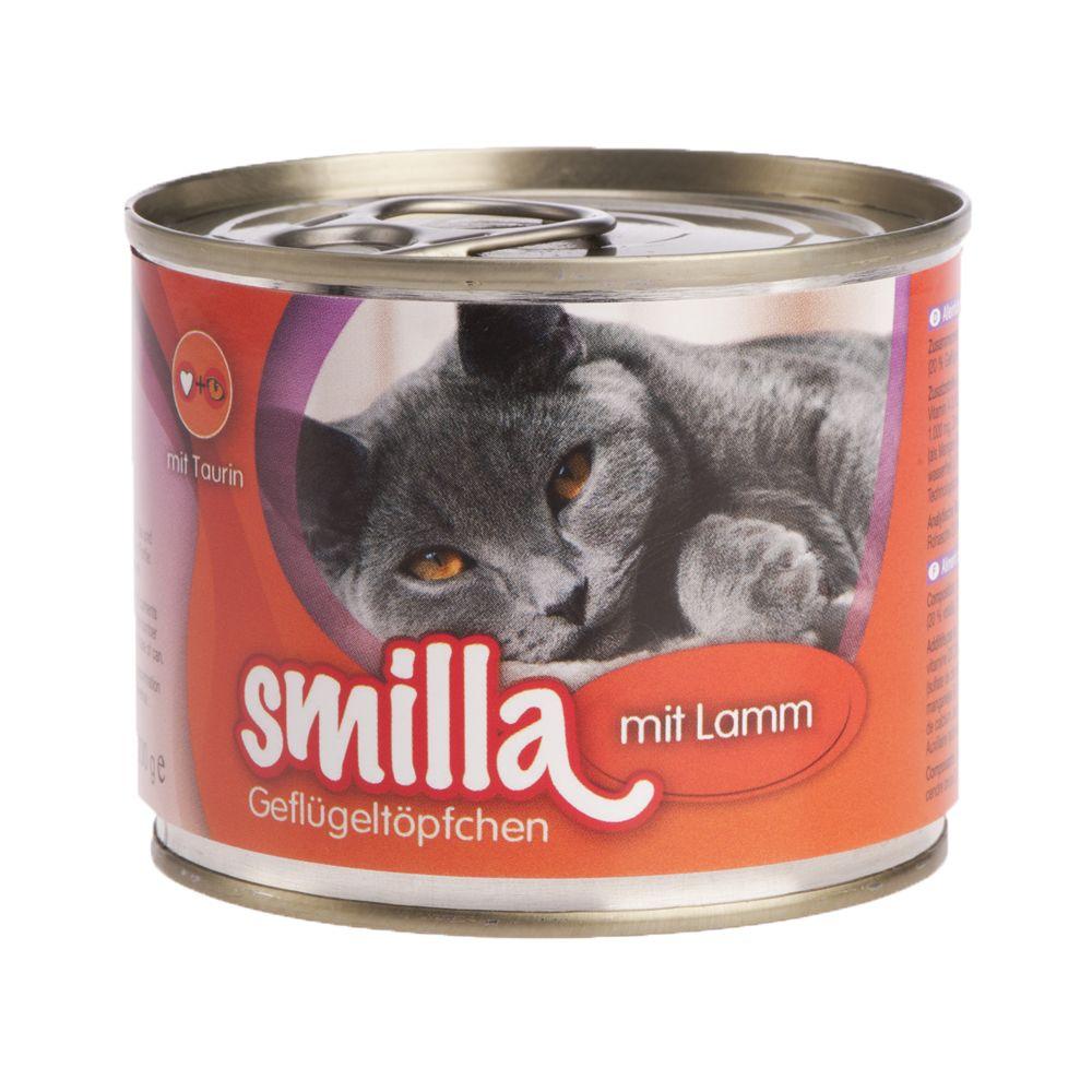 Image of Smilla Delizie al Pollo 6 x 200 g - Tenero pollo e agnello