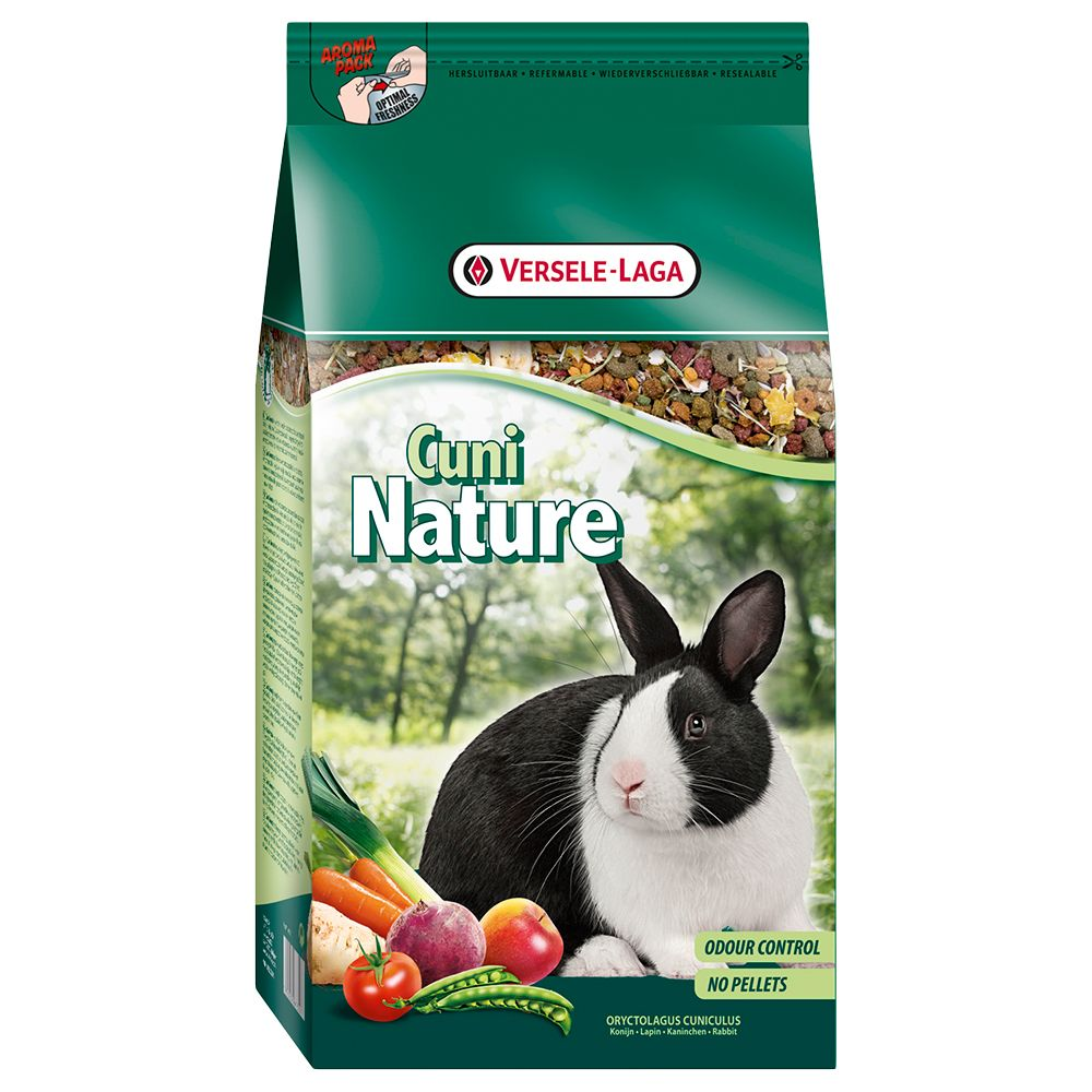 Cuni Nature Rabbit Food - Economy Pack: 2 x 10kg