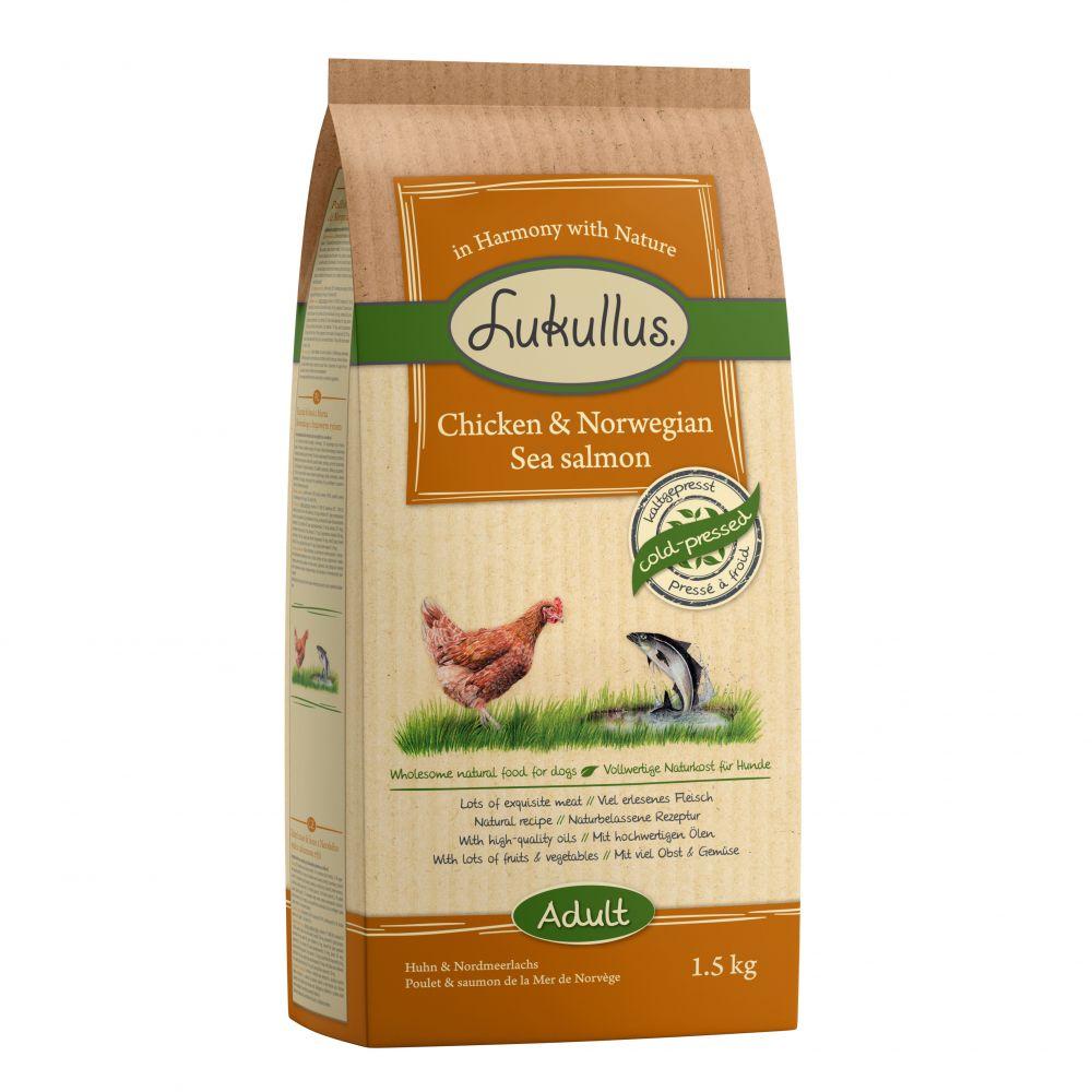 2x1.5kg Beef & Chicken Mixed Trial Pack Lukullus Dry Dog Food