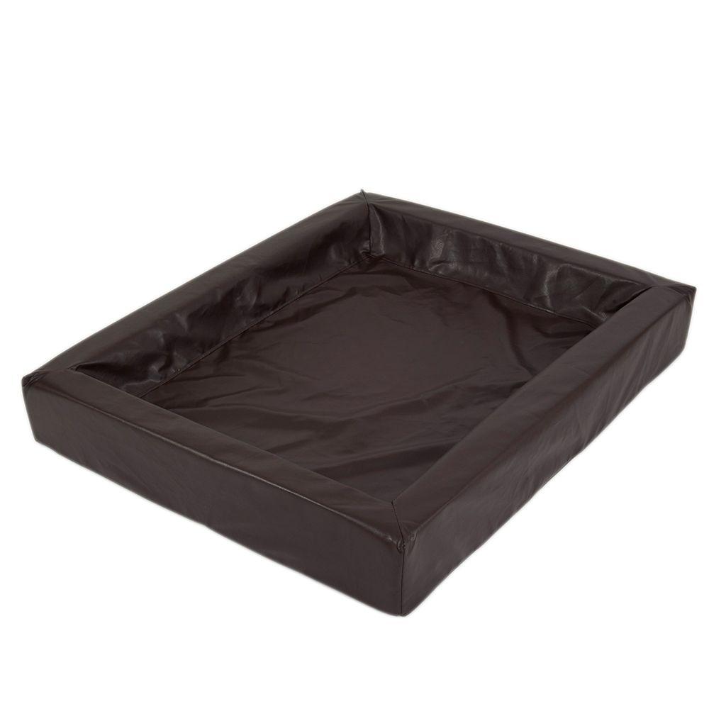 Das hygienische Hundebett, tabac - L 120 x B 100 cm