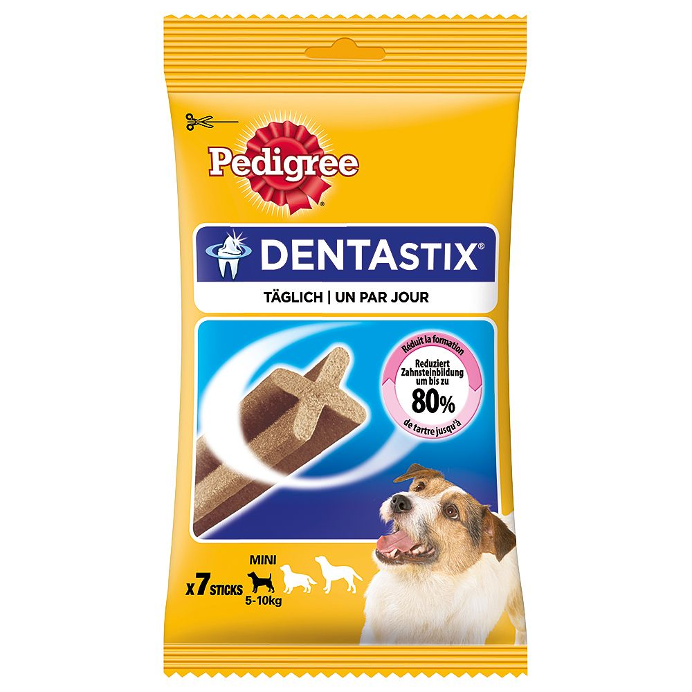 7 x Pedigree Dentastix - 1 + 1 Free!* - Large Dogs (2 x 7 Sticks)