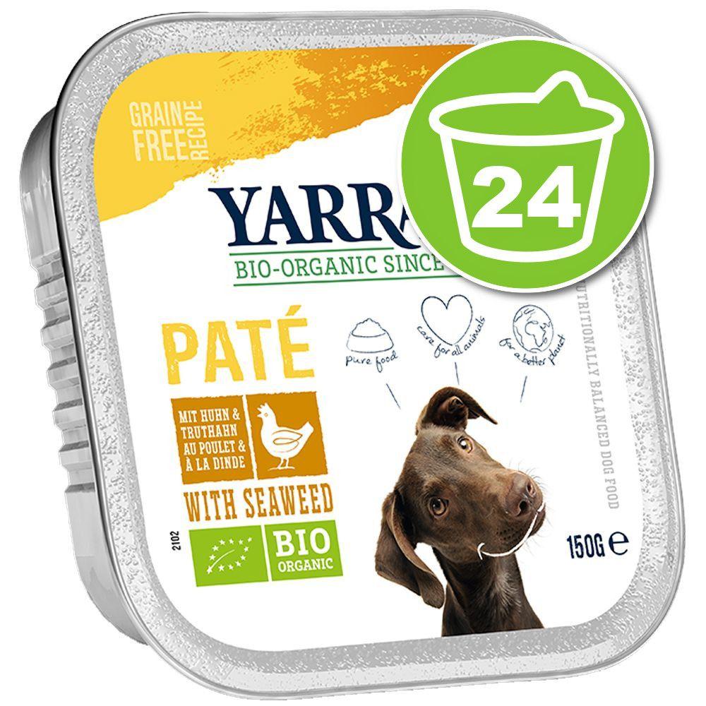 24x150g Chunks bouchées végétariennes légumes, cynorrhodon végan Yarrah Bio - Nourriture pour chien