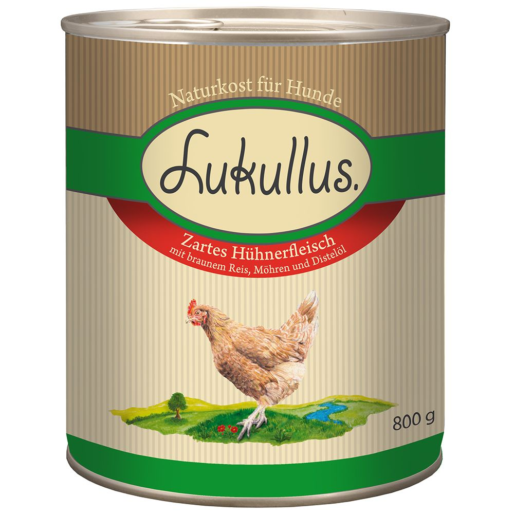 Lukullus Sommer-Menü: Zartes Hühnerfleisch - 6 x 800 g
