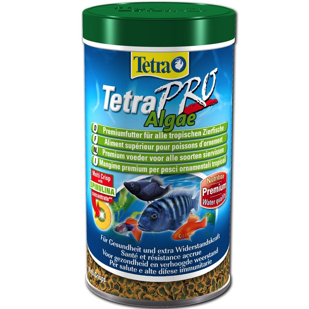 Tetra TetraPRO Algae - 500 mLPoisson / Nourriture / Flocons / Aliments Tetra pour poisson