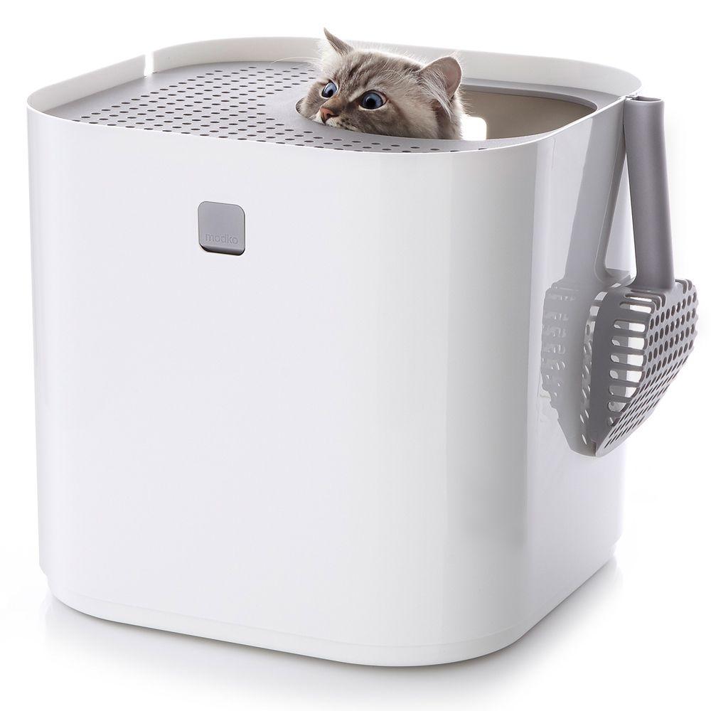 Modkat kattlåda - Svart