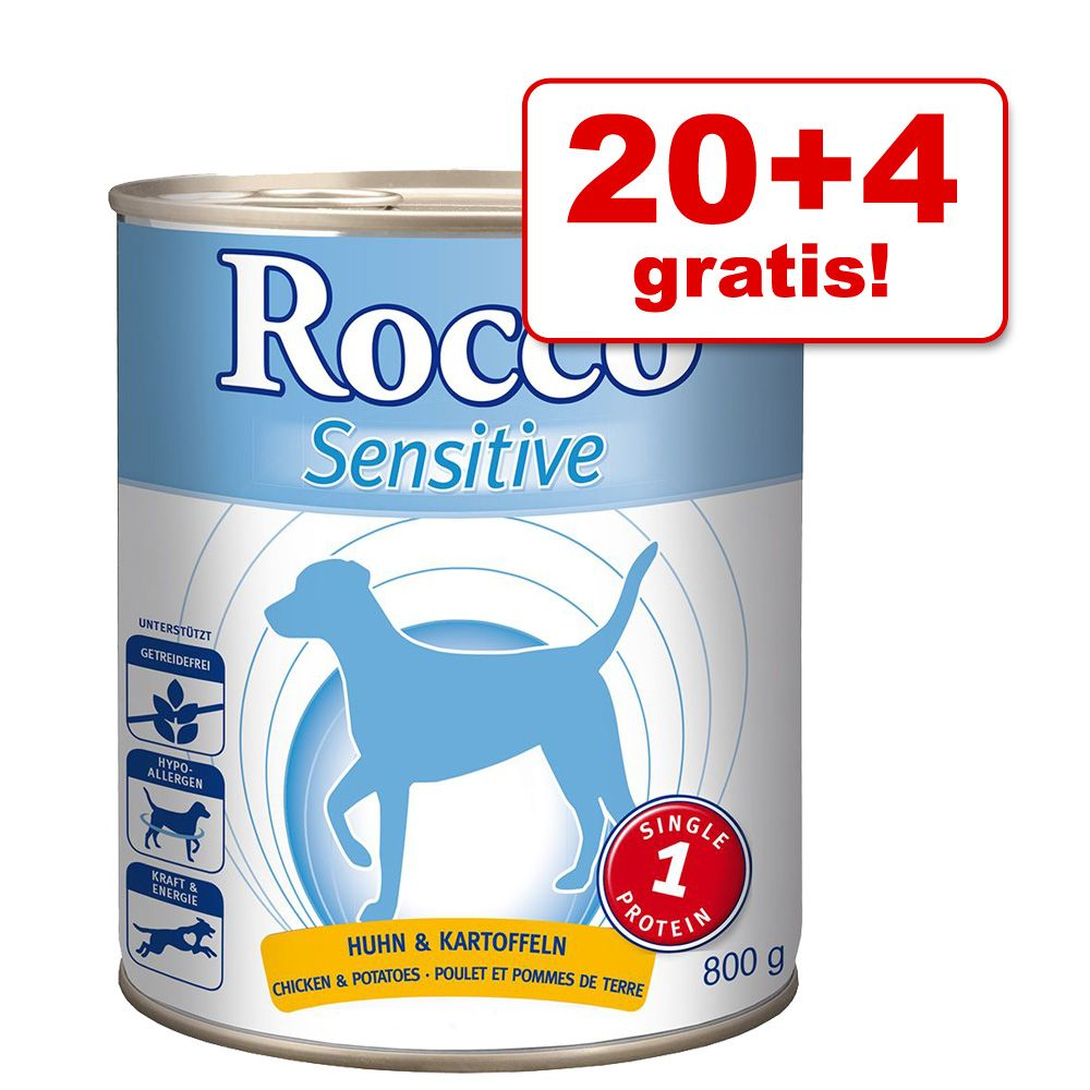 20 + 4 gratis! Rocco Sens