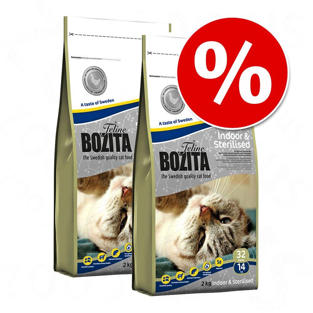 Ekonomipack: 2 x 10 kg Bozita Feline kattfoder till lågpris! - Feline Large (2 x 10 kg)