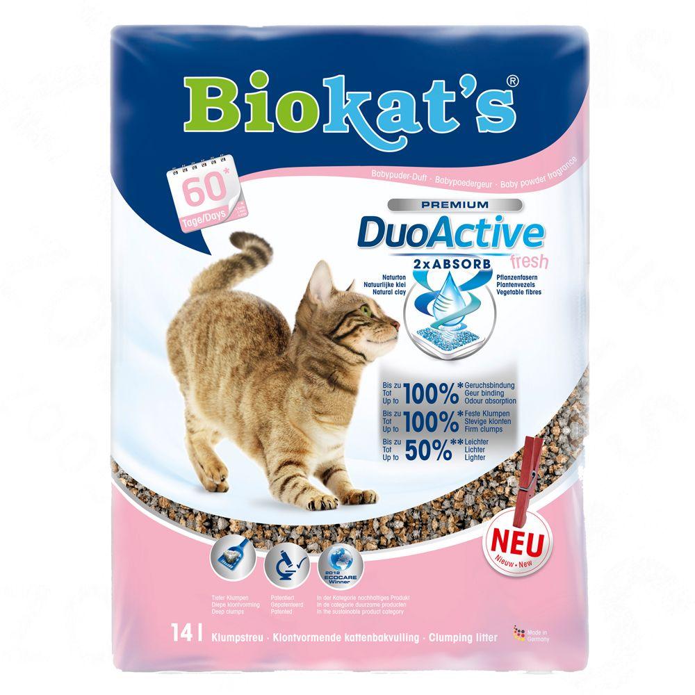Chat Litière Biokat´s Litière pour chat ultra Biokat´s Duo Active