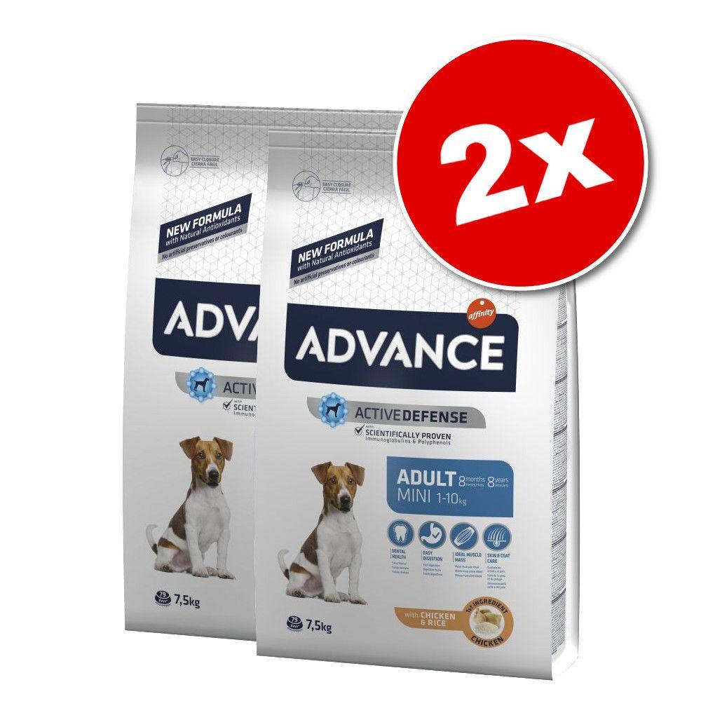 Lot Affinity Advance Mini pour chien - Puppy Sensitive (2 x 12 kg)