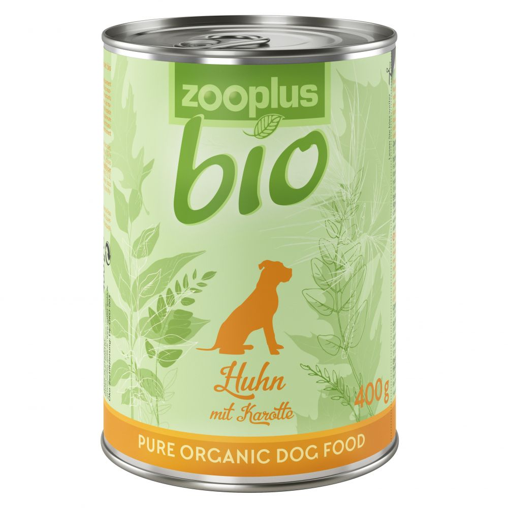 zooplus Bio Organic Chicken with Carrot