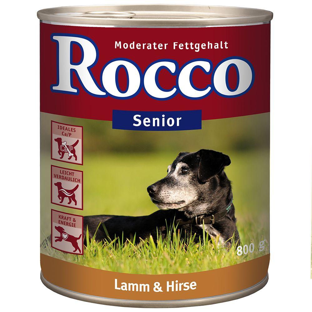 Rocco Senior 6 x 800g - Lamb & Millet