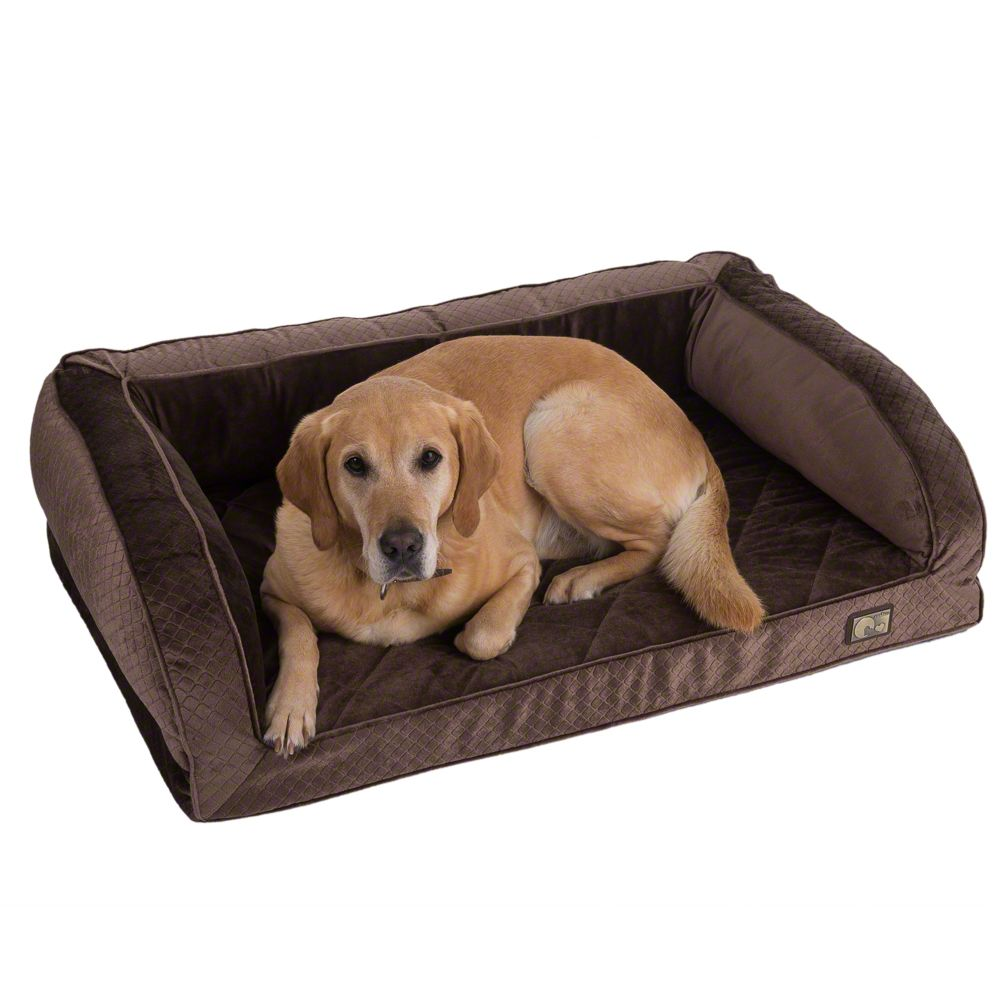 zoolove Wellness Snuggle Sofa -Brown