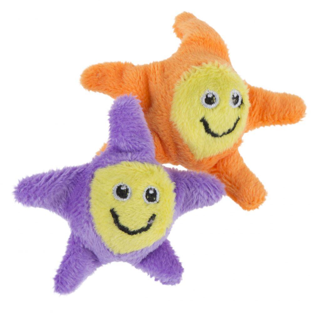 Katzenspielzeug Jumping Stars - 4 Stück