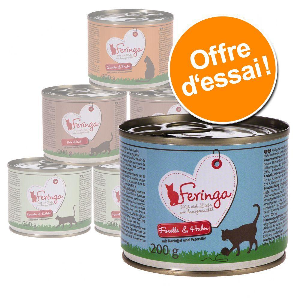 Chat Boîtes et sachets ★ Feringa Offres d´essai Feringa pour chat