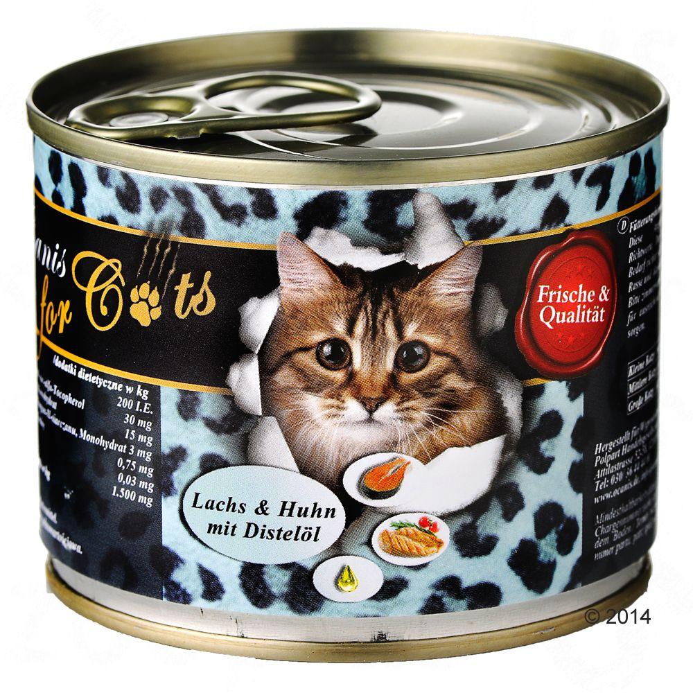 O'Canis for Cats 6 x 200 g - Gås, kyckling & safflorolja