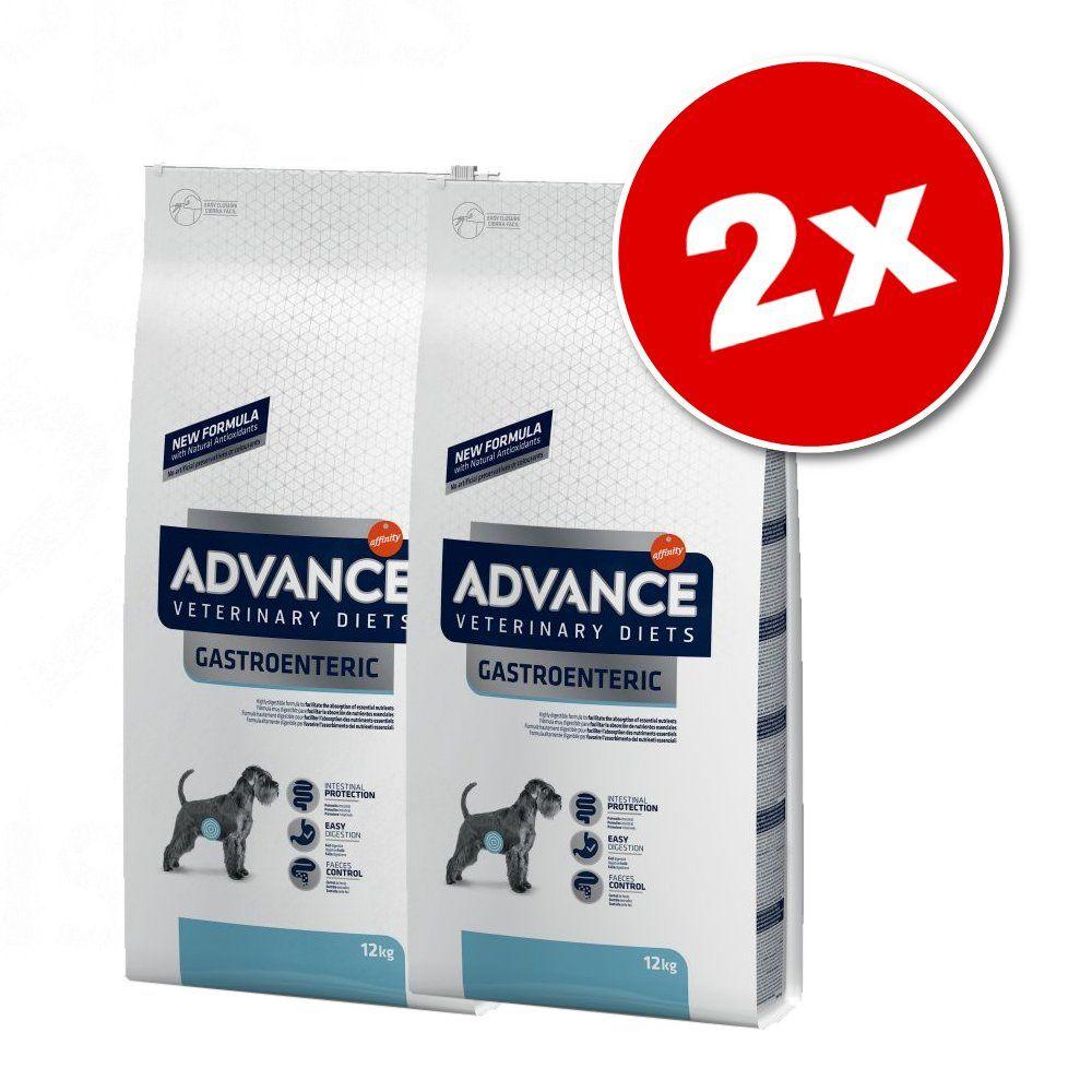 2x12kg Diabetes Colitis Affinity Advance Veterinary Diets - Croquettes pour chien