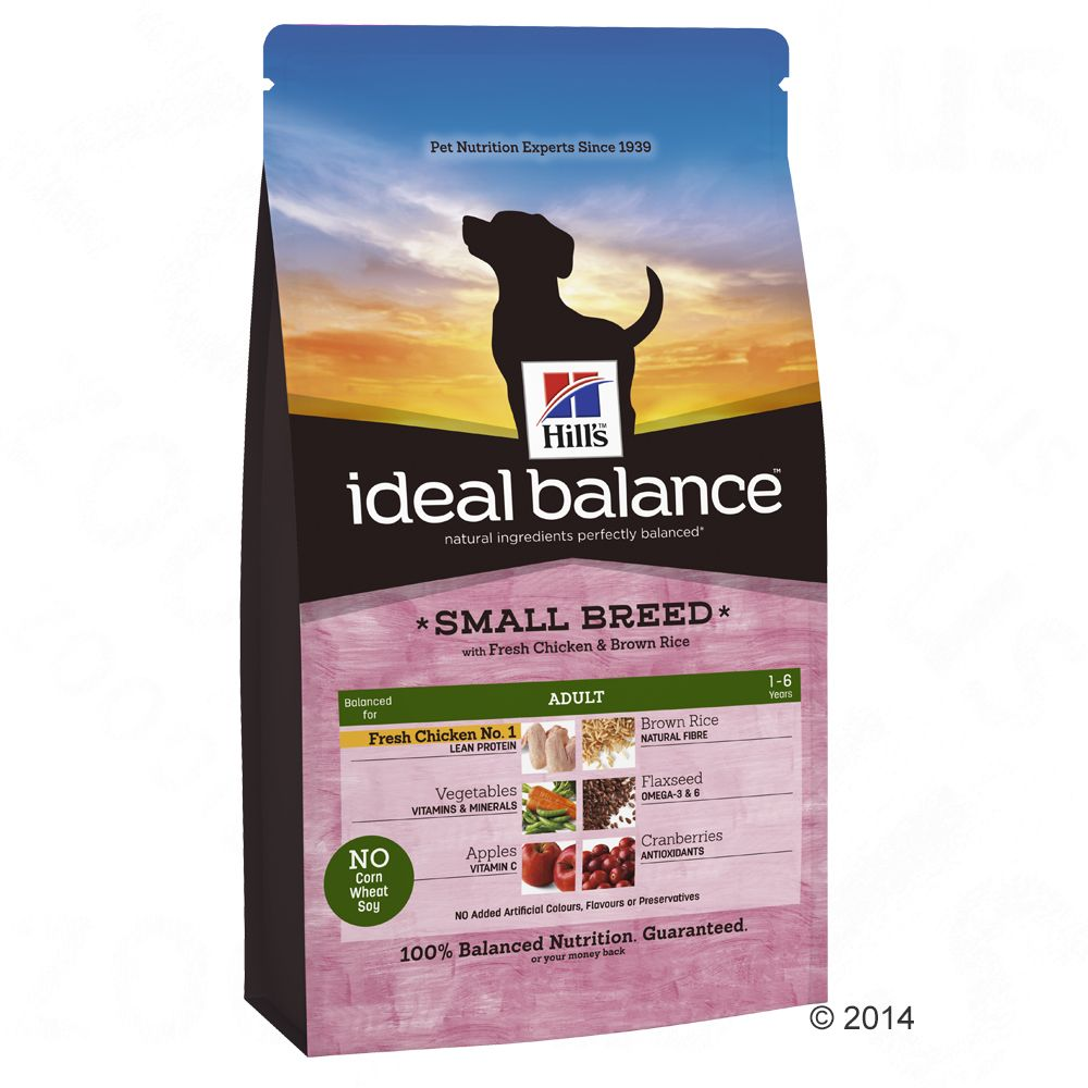 hill-canine-ideal-balance-adult-small-breed-csirke-rizs-2-kg