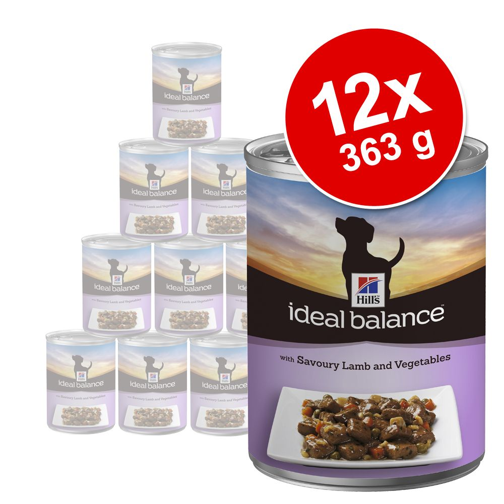 Hill´s Canine Ideal Balance Adult 12 x 363 g - Mixpaket