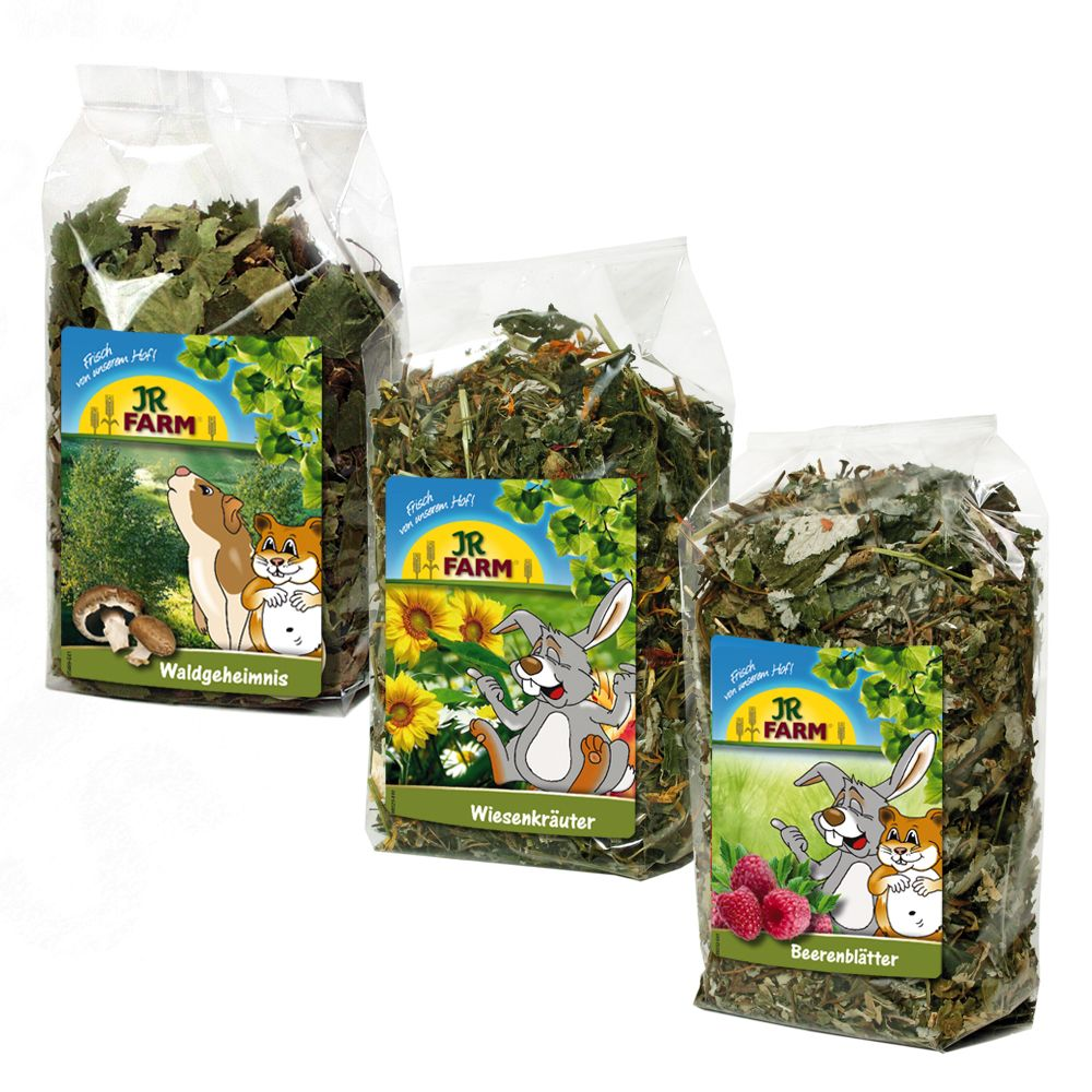 350g JR Farm Forest & Meadow Secrets Pack Small Pet Food