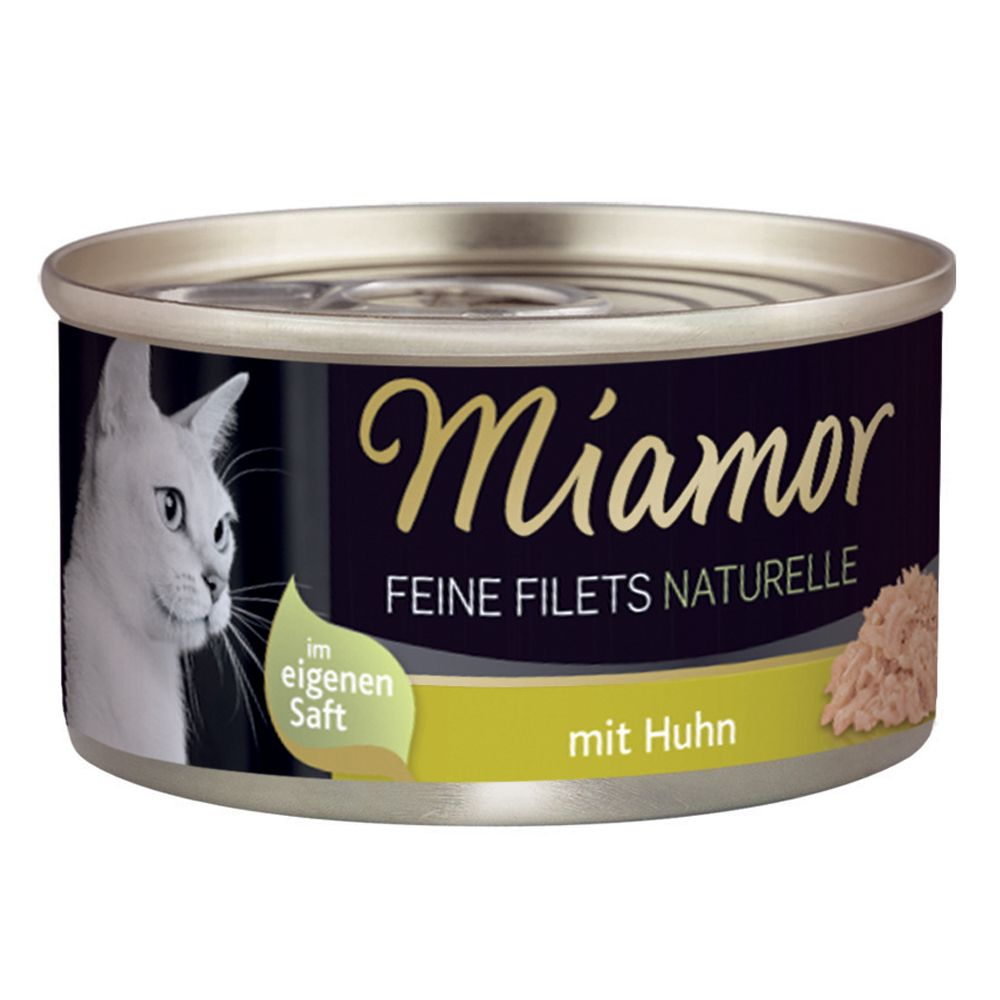 Miamor Feine Filets Naturelle 6 x 80 g - Thunfi...