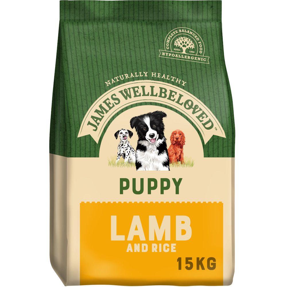 James Wellbeloved Puppy - Lamb & Rice - 15kg