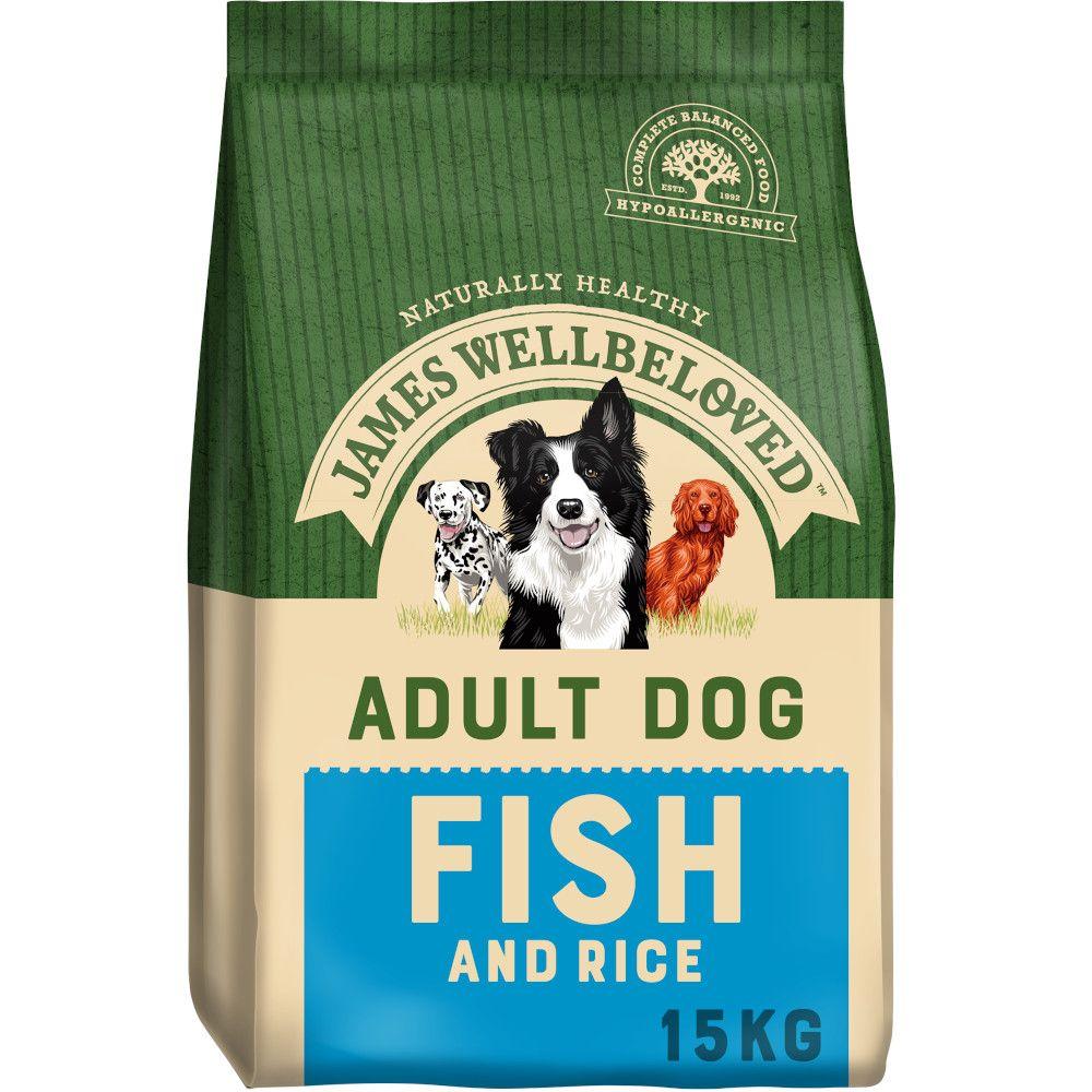 James Wellbeloved Adult  - Fish & Rice - 15kg