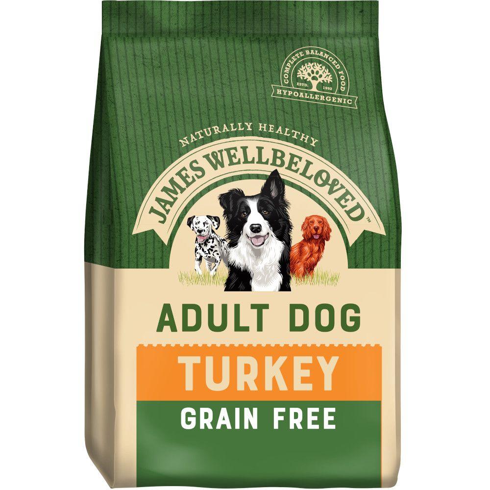 James Wellbeloved Adult Grain-Free - Turkey & Vegetables - Economy Pack: 2 x 10kg
