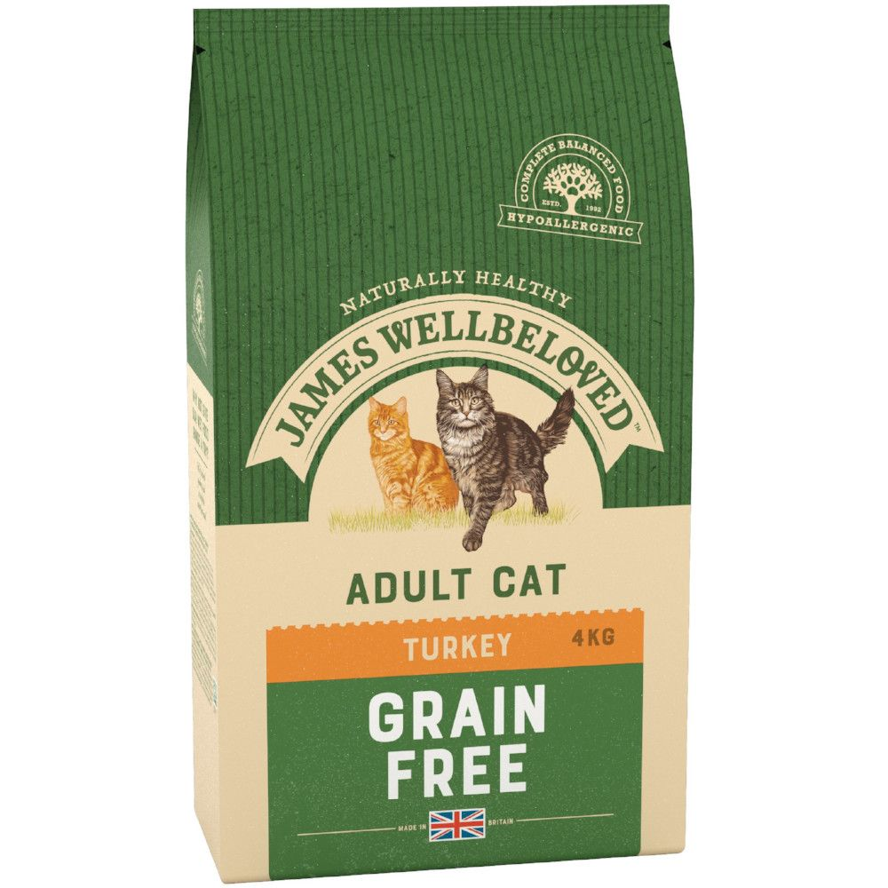 Turkey Adult Cat Grain Free James Wellbeloved