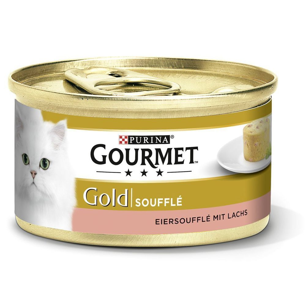 Salmon Souffl? Selection Saver Pack Gourmet Gold Wet Cat Food