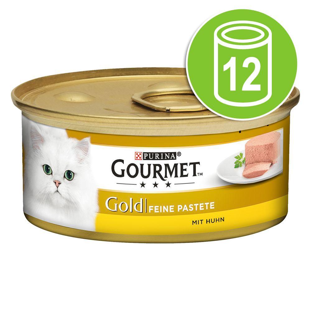 Gourmet Gold Fine Paté 12 x 85 g - Lamm & gröna bönor