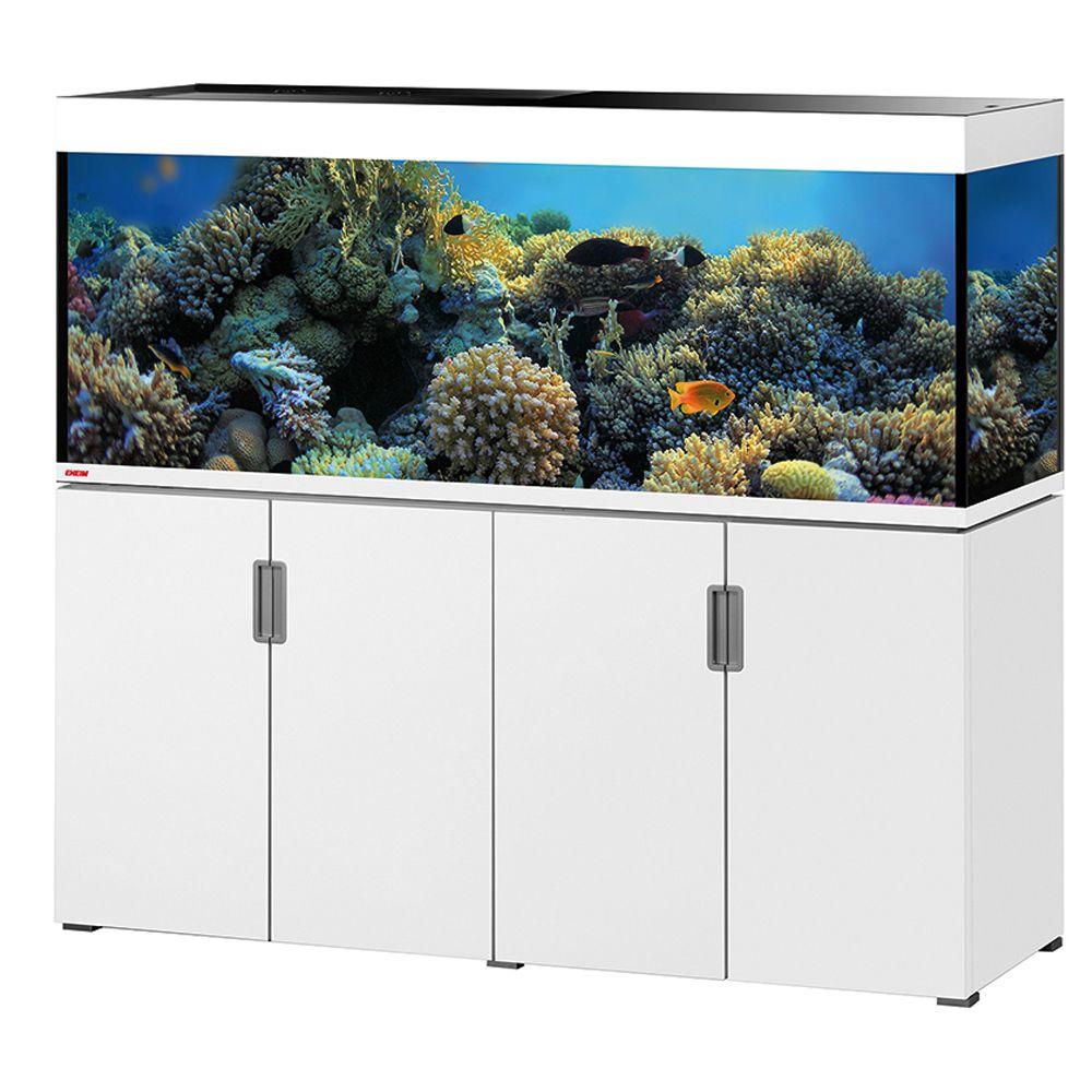 Foto Set acquario + supporto EHEIM incpiria 500 marine - bianco laccato MP Acquari da 121 - 200 cm