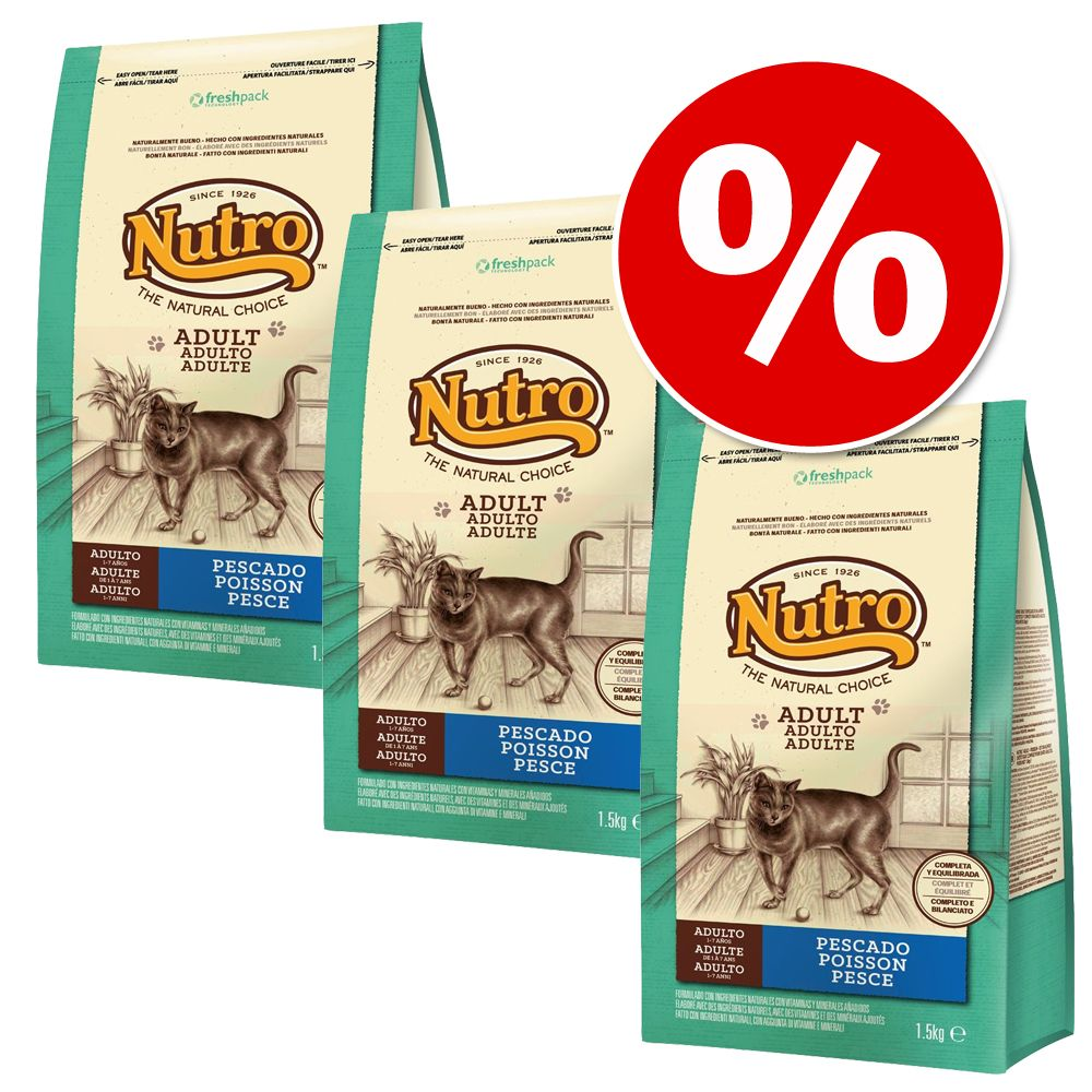 Sparpaket Nutro Natural Choice 3 x 1,5 kg - Kitten Turkey