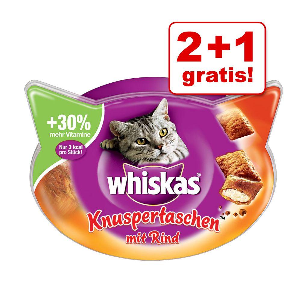2 + 1 på köpet! 3 x Whiskas kattgodis! - Milk-Kittens 3 x 66 g