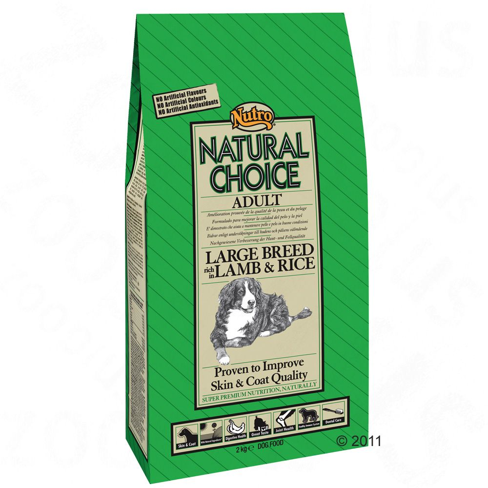 Nutro Choice Adult Large Breed, jagnięcina i ryż - 12 kg