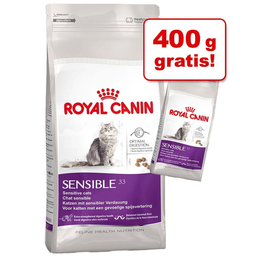 400 g gratis! 2,4 kg Royal Canin Trockenfutter - Indoor 27