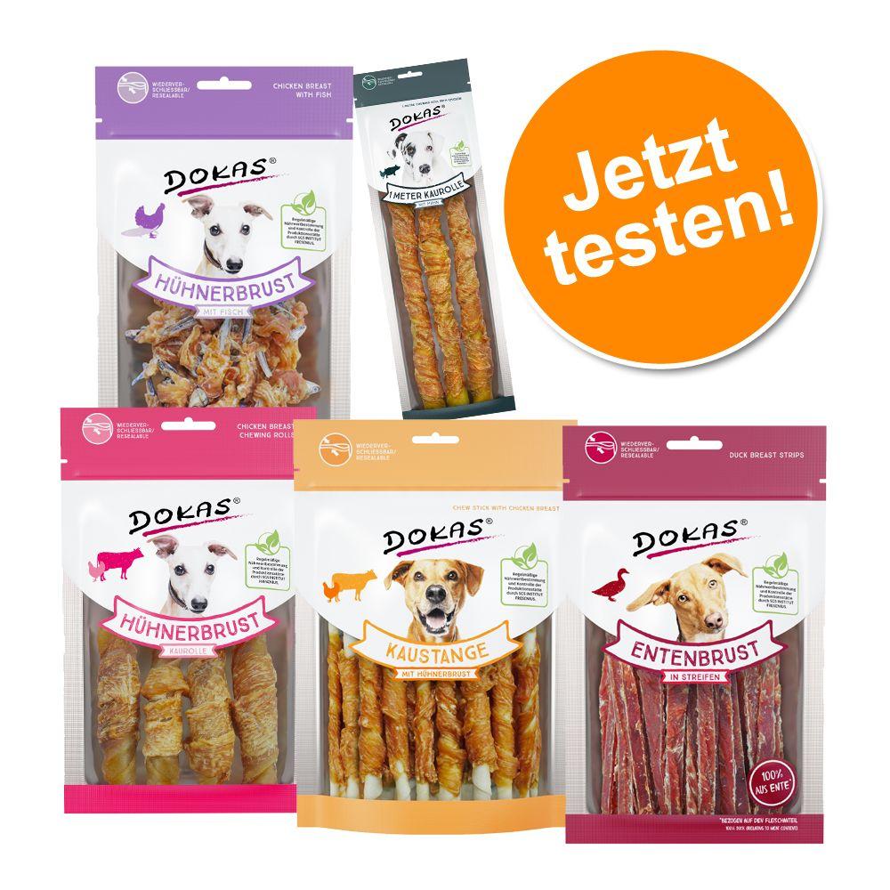 Dokas Snack Probierset - Probierset, 5 Snacks