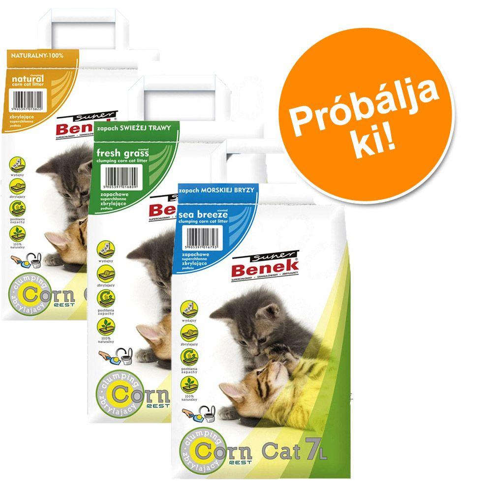 probacsomag-super-benek-corn-cat-3-x-7-l-natural-tengeri-szello-friss-fu