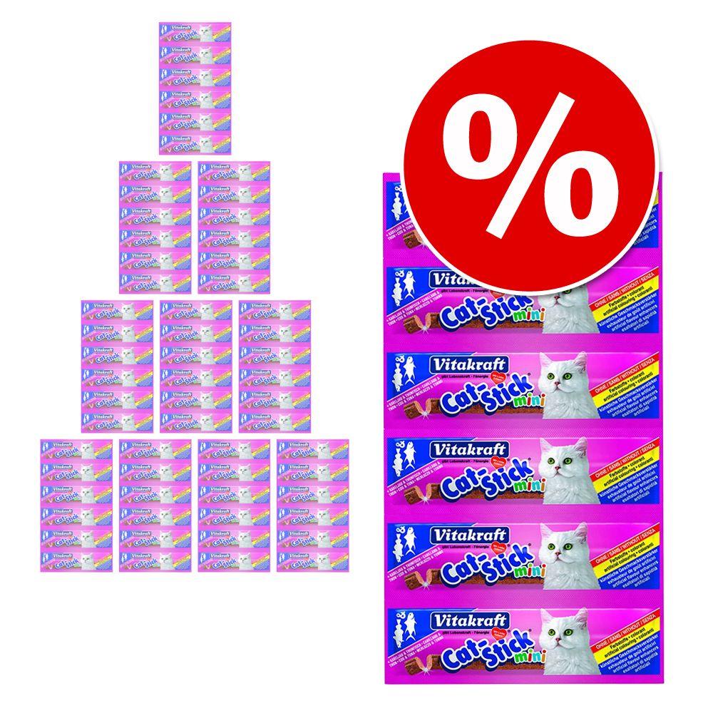 Ekonomipack: 60 st Vitakraft Cat Stick Mini á 6 g - Fjäderfä & lever (60 x 6 g)
