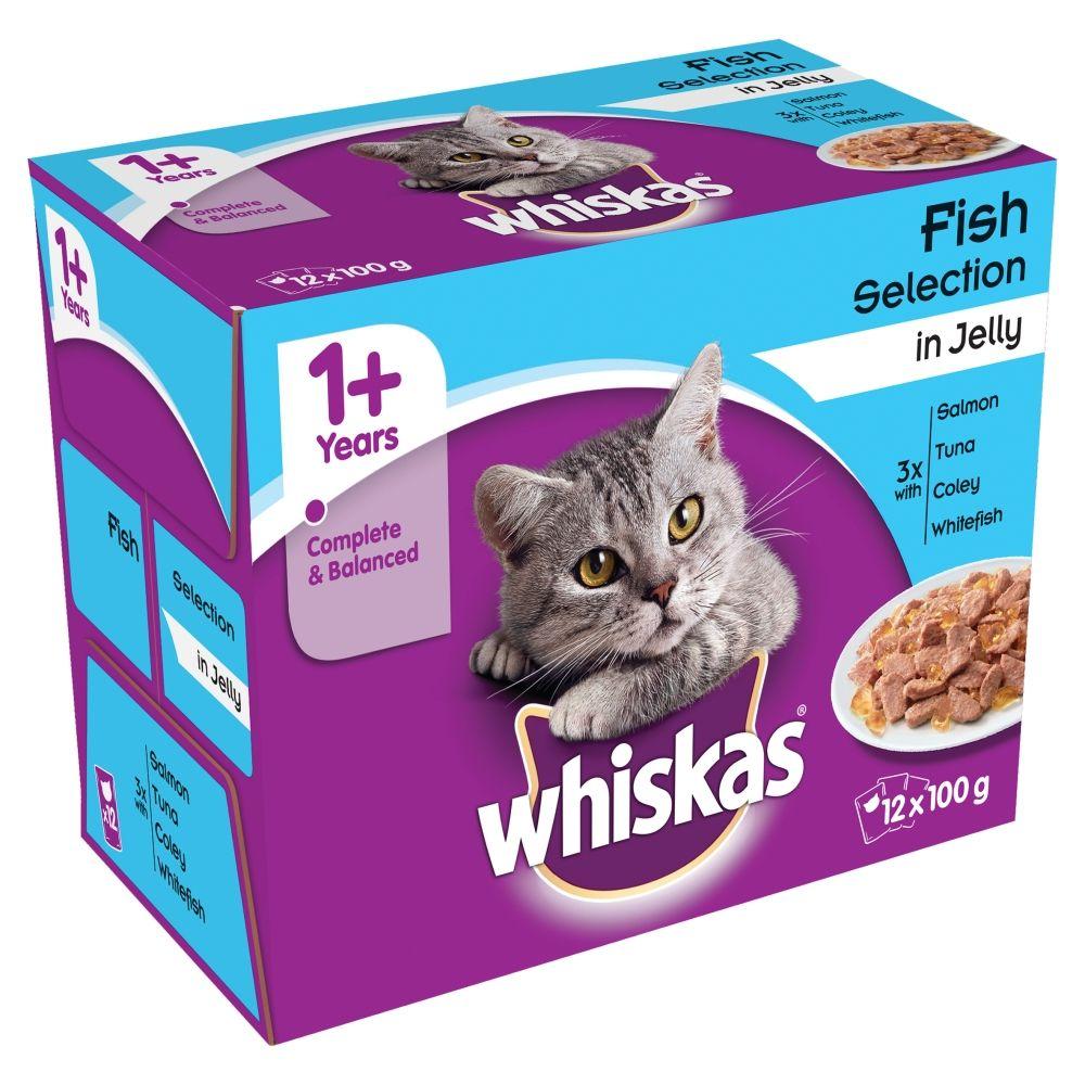 Whiskas 1+ Pouches Mega Pack 96 x 100g*