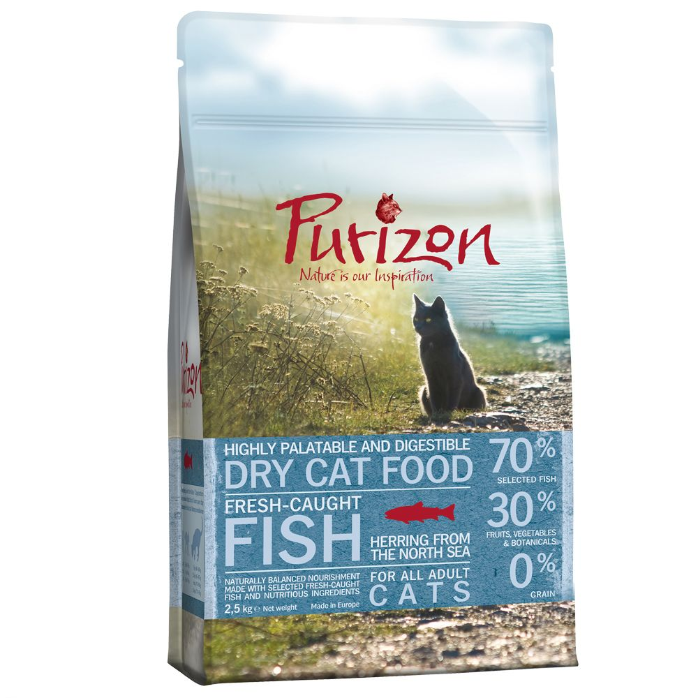 Bilde av 100 Kr Avslag! 6,5 Kg Purizon Tørrfòr For Katter - Adult And & Fisk