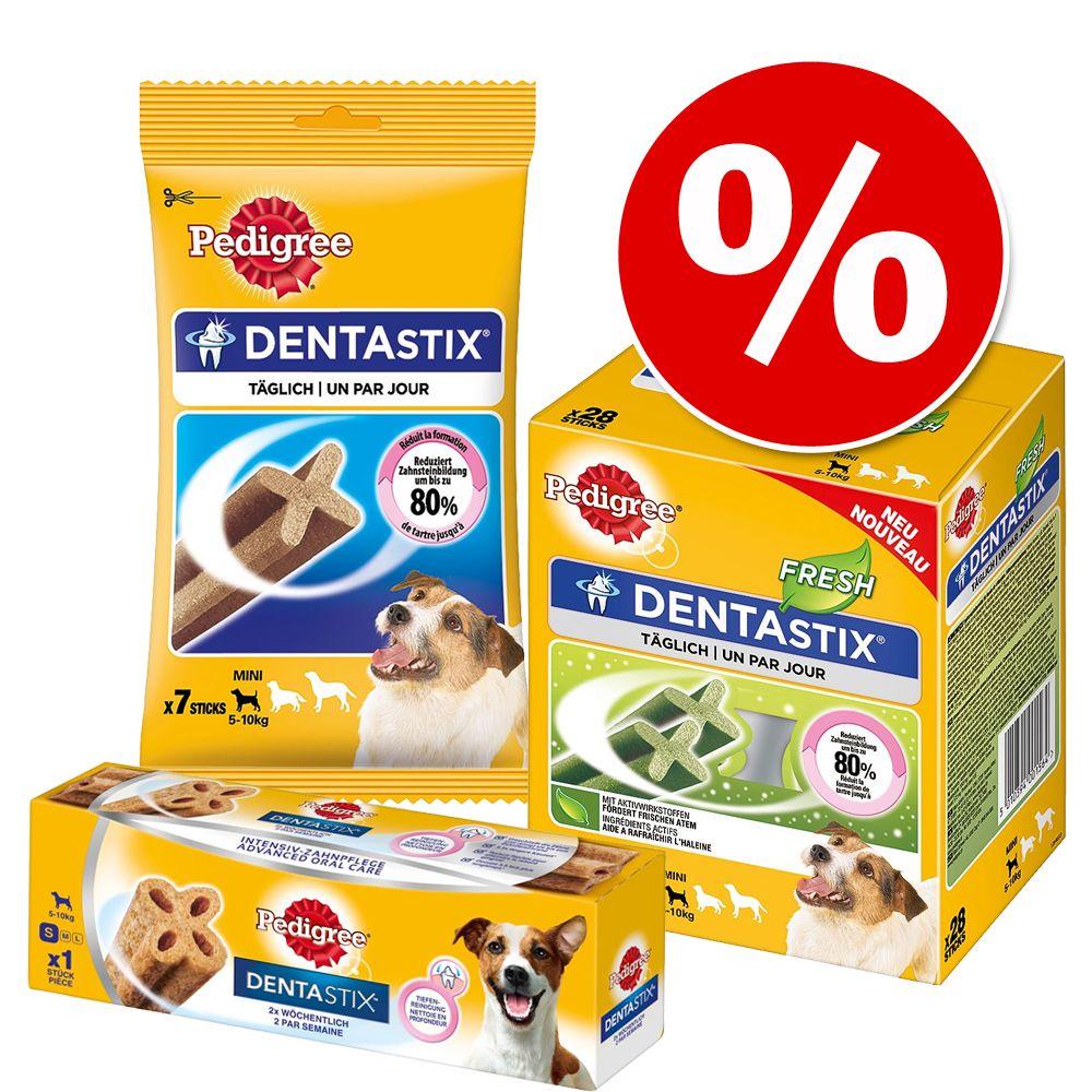 Pedigree Zahnpflegepaket mit 3 Sorten zum Sparp...