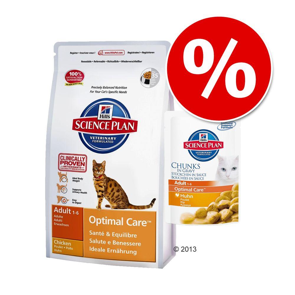 Hill´s Science Plan Feline Mixpaket - Adult Huhn (2 kg)