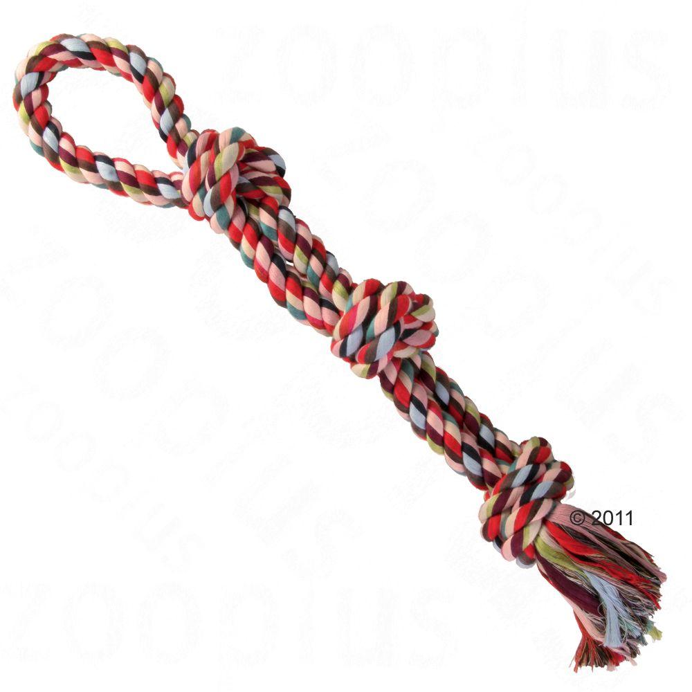 Trixie Multi - večbarvna igralna vrv - 60 cm, 500 g