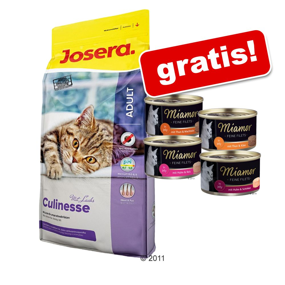 10 kg Josera + 4 x 100 g Miamor Feine Filets gratis! - SensiCat
