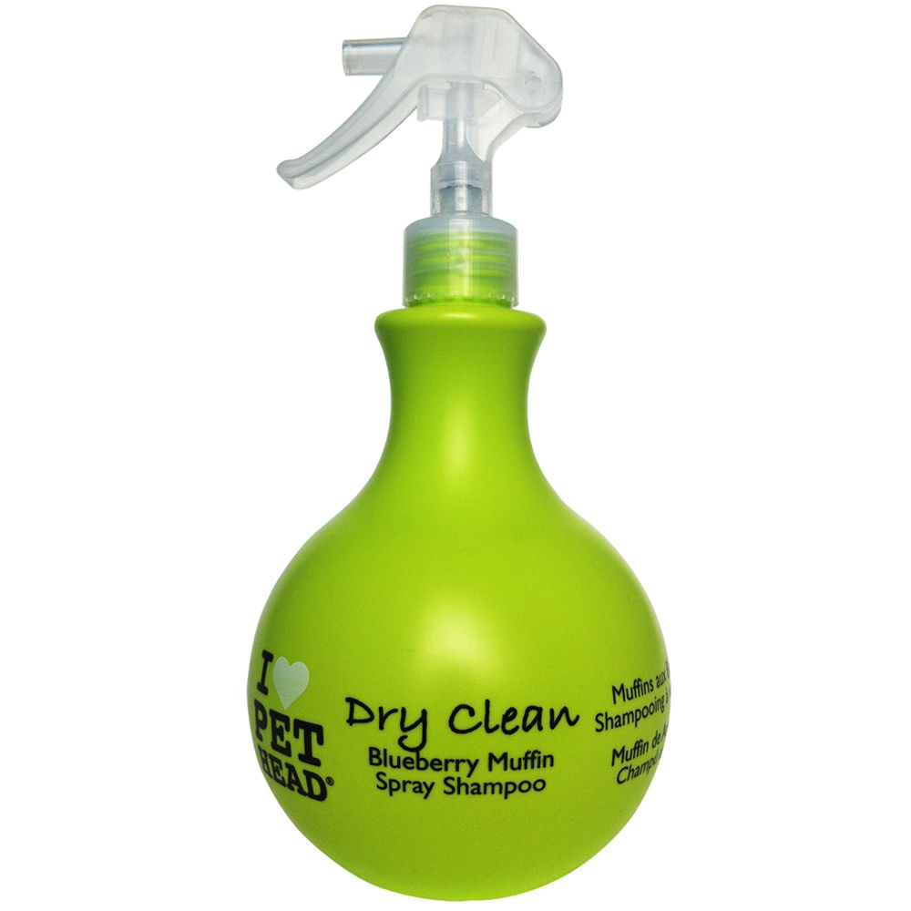 Pet Head Dry Clean Spray Dog Shampoo 450ml