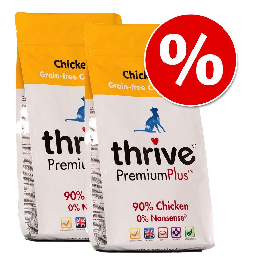 Sparpaket: 2 x 1,5 kg Thrive PremiumPlus Trockenfutter - Lachs und Hering